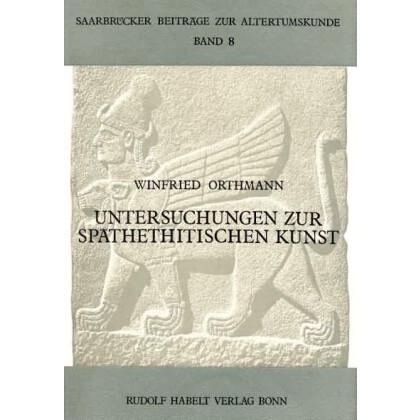 Untersuchungen zur späthethitischen Kunst
