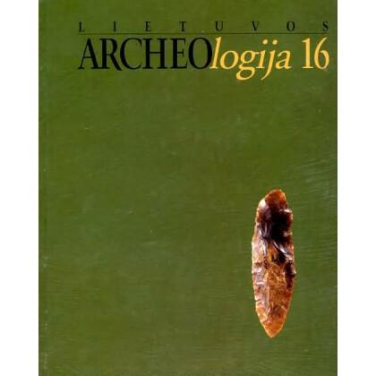 Lietuvos Archäologija, Vol. 16