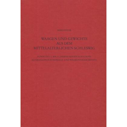 Waagen und Gewichte aus dem mittelalterlichen Schleswig