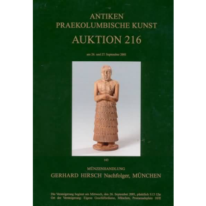 Münzenhandlung Gerhard Hirsch. Antiken Auktion 216