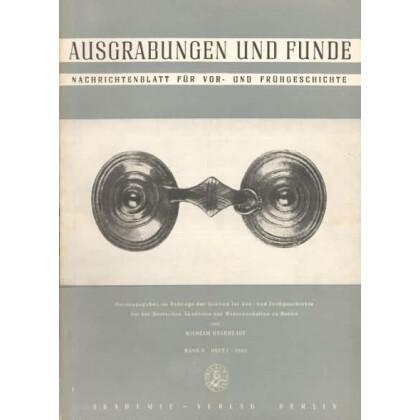 Ausgrabungen und Funde, Band 8 - 1963 Heft 1 - 6