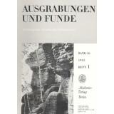 Ausgrabungen und Funde, Band 30 - 1985 Heft 1 - 6