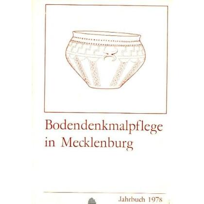Bodendenkmalpflege in Mecklenburg, Jahrbuch 1978