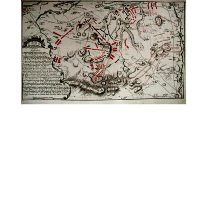 Plan der Bataille bey Hochkirch