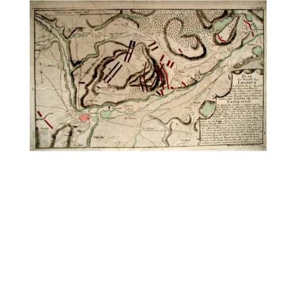 Plan der Bataille bey Liegnitz in Schlesien