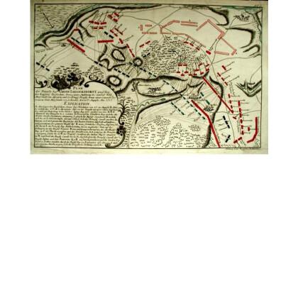 Plan der Batille bey Gross Iaegersdorf