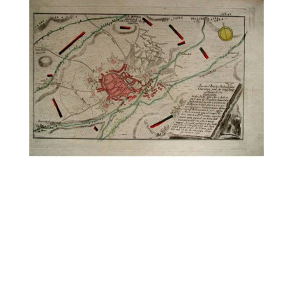 Plan der Vestung Schweidnitz