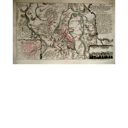Plan der Bataille bey Freyberg