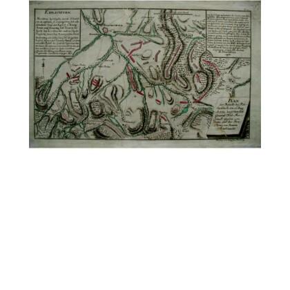 Plan der Bataille bey Reichenbach