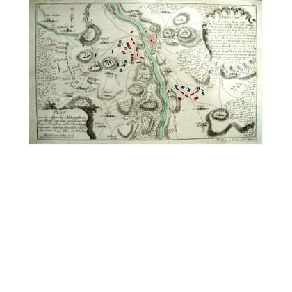 Plan von der Affaire bey Fulda