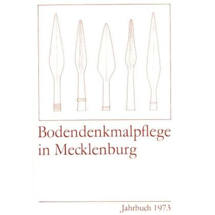 Bodendenkmalpflege in Mecklenburg, Jahrbuch 1973