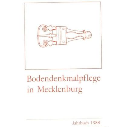 Bodendenkmalpflege in Mecklenburg, Jahrbuch 1988