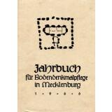 Bodendenkmalpflege in Mecklenburg, Jahrbuch 1966