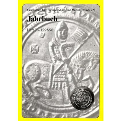 Gesellschaft für Münz- und Medaillenkunde e.V. Jahrbuch Heft 7 1995 / 96