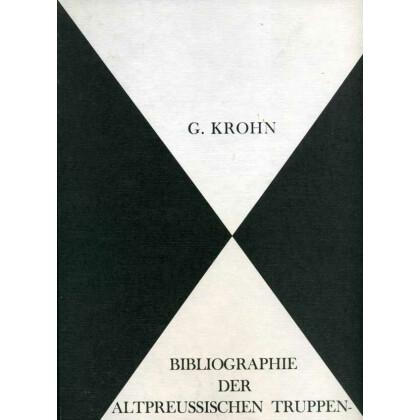 Bibliographie der altpreussischen Truppen- und Garnisonsgeschichten