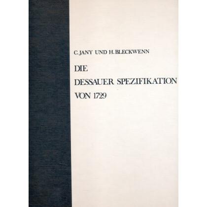Die Dessauer Spezifikation von 1729 - Übersichten altpreussischer Uniformgestaltung
