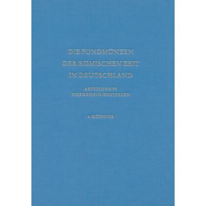 Die Fundmünzen der römischen Zeit in Deutschland, Abt. 6 Nordrhein-Westfalen, Band 4 Münster