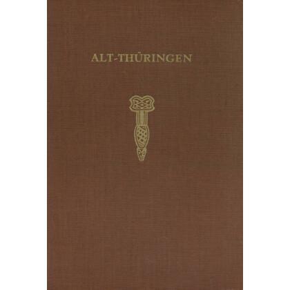 Alt - Thüringen - Band 4. Altsteinzeitliche Rastplätze im Travertingebiet von Taubach, Weimar, Eringsdorf