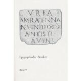 Epigraphische Studien, Band 9 - Sammelband