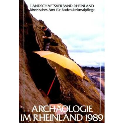 Archäologie im Rheinland 1989