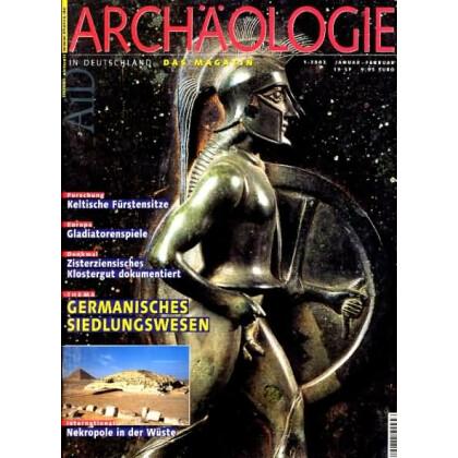 Archäologie in Deutschland. Heft 2002/1