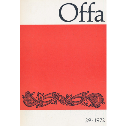 Offa-Zeitschrift Band 29 - Jahrgang 1972