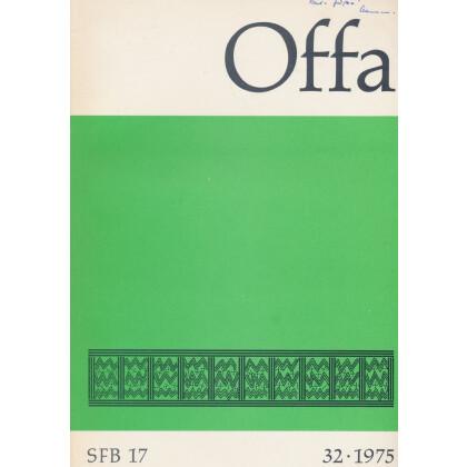 Offa Berichte und Mitteilungen aus dem Schleswig-Holsteinischen Landesmuseum, Band 32 - Jahrgang 1975