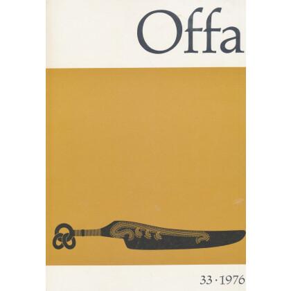 Offa-Zeitschrift Band 33 - Jahrgang 1976