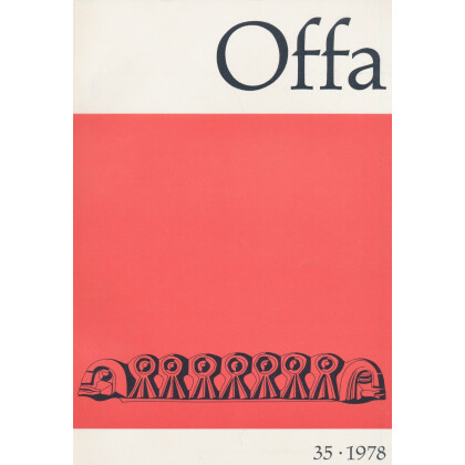 Offa-Zeitschrift Band 35 - Jahrgang 1978