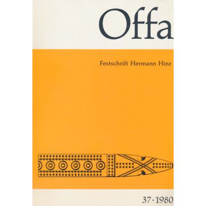 Offa-Zeitschrift Band 37 - Jahrgang 1980