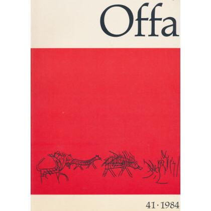 Offa-Zeitschrift Band 41 - Jahrgang 1984