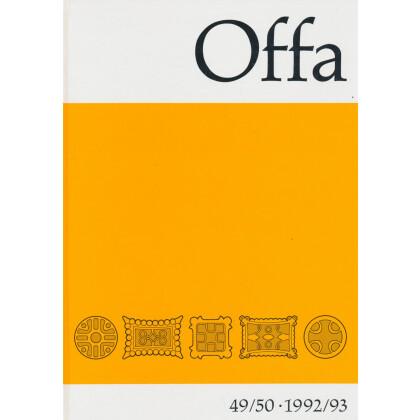 Offa-Zeitschrift Band 49/50 - Jahrgang 1992/93
