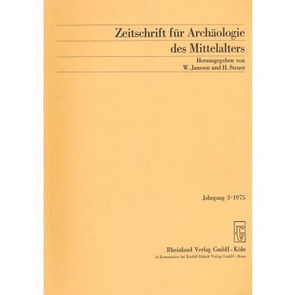 Zeitschrift für Archäologie des Mittelalters, Jahrgang 1975-3