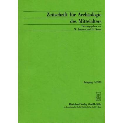 Zeitschrift für Archäologie des Mittelalters, Jahrgang 1978-6