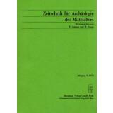 Zeitschrift für Archäologie des Mittelalters,...