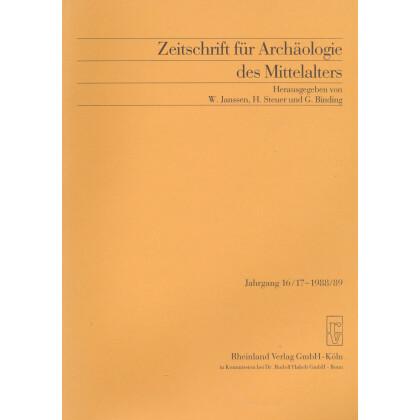 Zeitschrift für Archäologie des Mittelalters, Jahrgang 1988-89-16-17