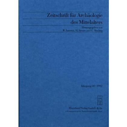 Zeitschrift für Archäologie des Mittelalters, Jahrgang 1992-20