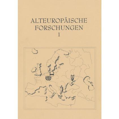 Alteuropäische Forschungen, Band 1
