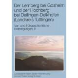 Der Lemberg bei Gosheim und der Hochberg bei...