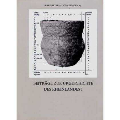 Beiträge zur Urgeschichte des Rheinlands