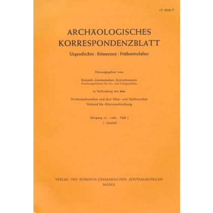 Archäologisches Korrespondenzblatt 1984/2