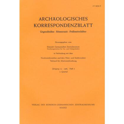 Archäologisches Korrespondenzblatt 1984/3