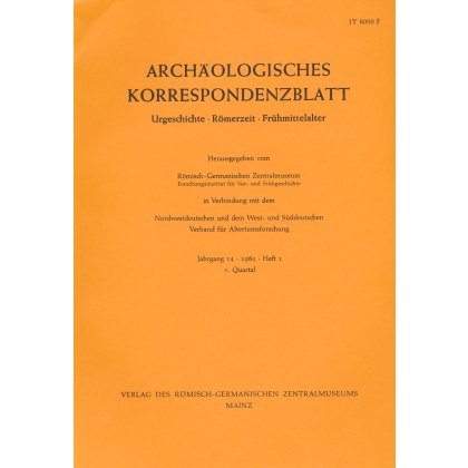 Archäologisches Korrespondenzblatt 1984/1