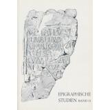 Epigraphische Studien, Band 11 - Sammelband