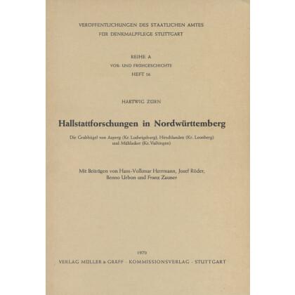 Hallstattforschungen in Nordwürttemberg