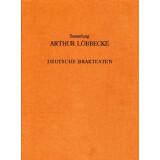 Deutsche Brakteaten - Sammlung Artur Löbecke