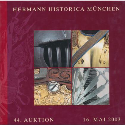 Hermann Historica, Katalog zur 44. Auktion 16. Mai 2003