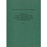 Katalog der Punzenmotive in der arretinischen Reliefkeramik. 2 Teile