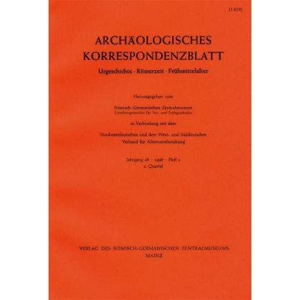 Archäologisches Korrespondenzblatt 1995/3