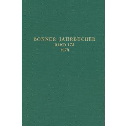 Bonner Jahrbücher Band 178 - 1978